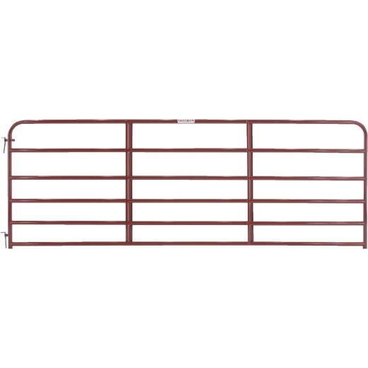 Tarter 50 In. H. x 12 Ft. L. x 1-3/4 In. Tube Diameter Red Economy Tube Gate